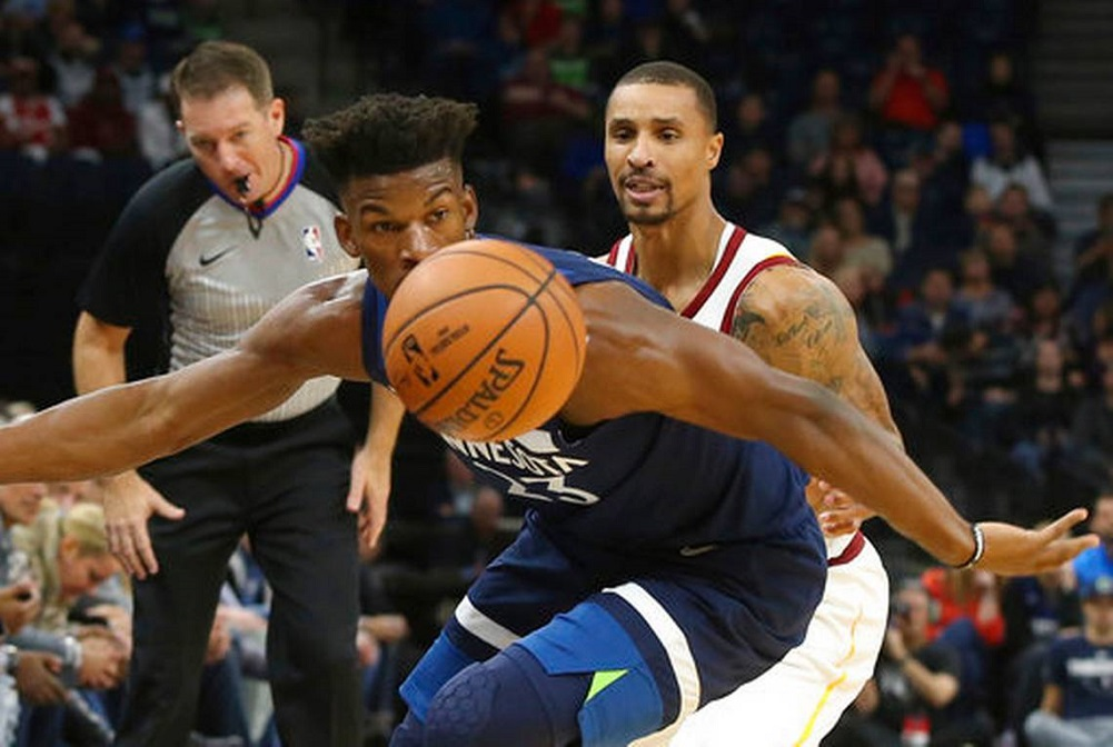 Butler leads T-wolves with 33 points in win vs. Cavs 429efd892