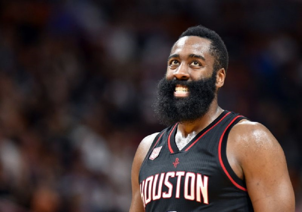 0e15bf3722ad Rockets point guard James Harden says he will donate  1 million to the city  of Houston to aid in Hurricane Harvey recovery.