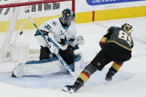 San Jose Sharks v Vegas Golden Knights: Golden Knights top Sharks in shootout on historic night