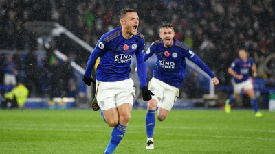 Vardy and Maddison sink sorry Gunners as Foxes march on