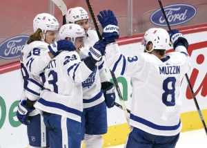 Toronto Maple Leafs v Montreal Canadiens: NHL-leading Maple Leafs beat Canadiens