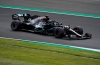 Hamilton takes pole for home British GP in record time