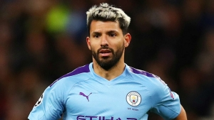 Aguero will miss Man City's Champions League clash with Madrid
