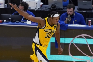 Indiana Pacers v Golden State Warriors: Pacers stymie Curry, bounce back to beat Warriors