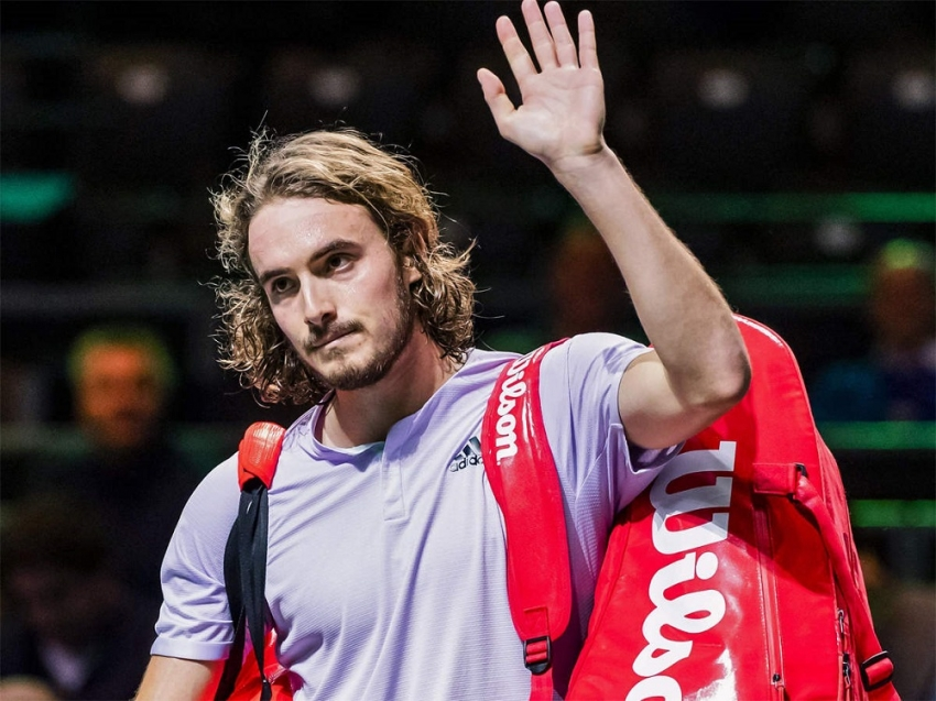Tsitsipas, Goffin out as upsets continue in Rotterdam