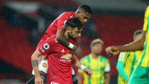 Manchester United v West Brom: Fernandes gives Red Devils controversial long-awaited home win
