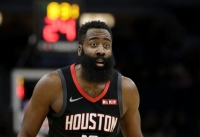 Harden scores 49 points, Rockets beat Timberwolves