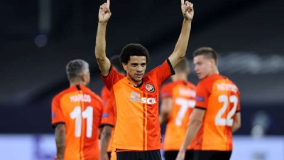 Taison and Marlos star to secure Inter semi-final in Europa League