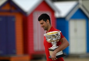 Djokovic faces a sideline spell with muscle tear after sweet success