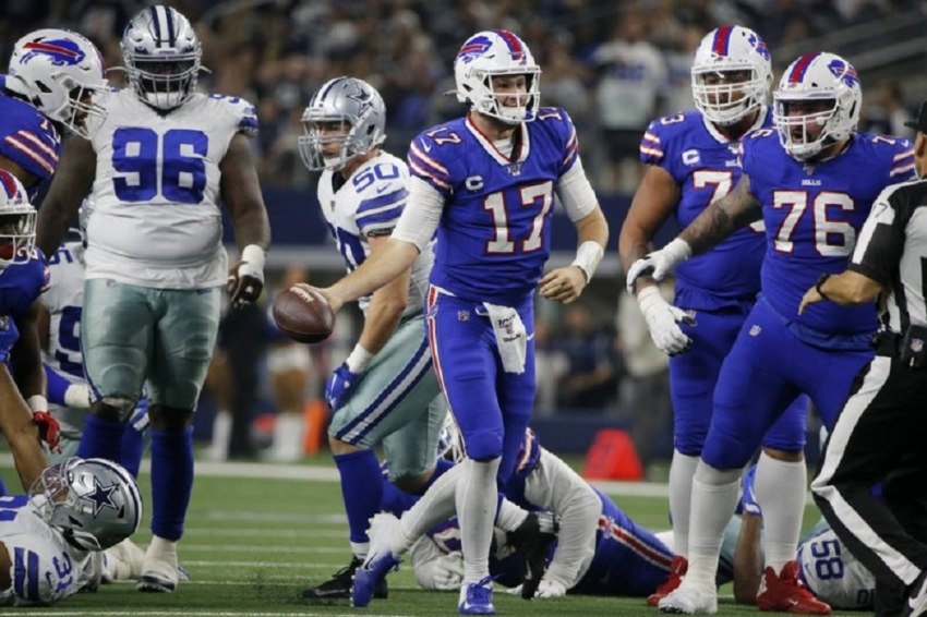 Trick TD sparks Bills in Thanksgiving win over Cowboys