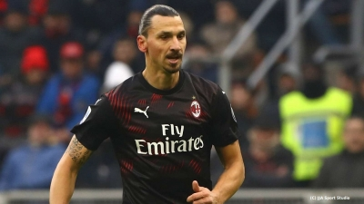 Zlatan Ibrahimovic inspires visitors on first start