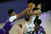 White, Poelti lead Spurs past short-handed Jazz