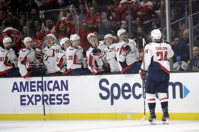 Carlson, Capitals down Kings for fifth straight win