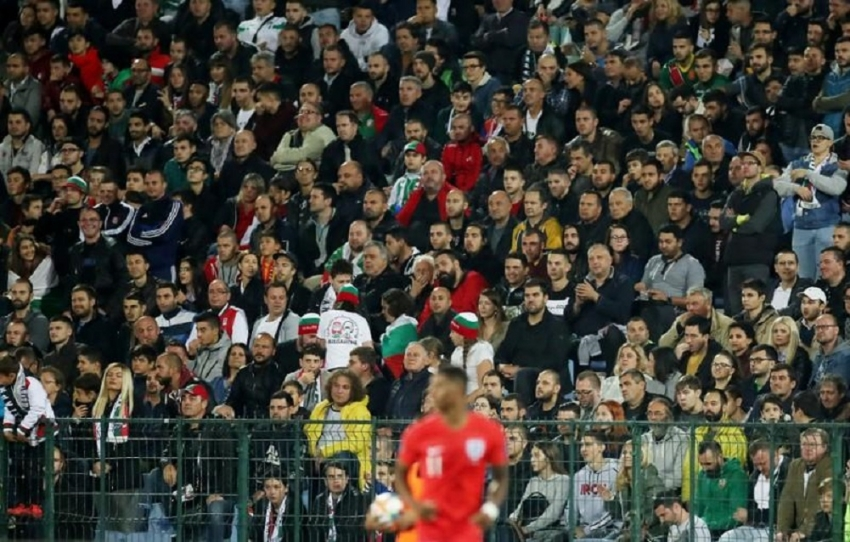 Bulgarian prosecutors charge man over racist chants at England game