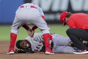 Angels OF Fowler needs season-ending surgery for torn ACL