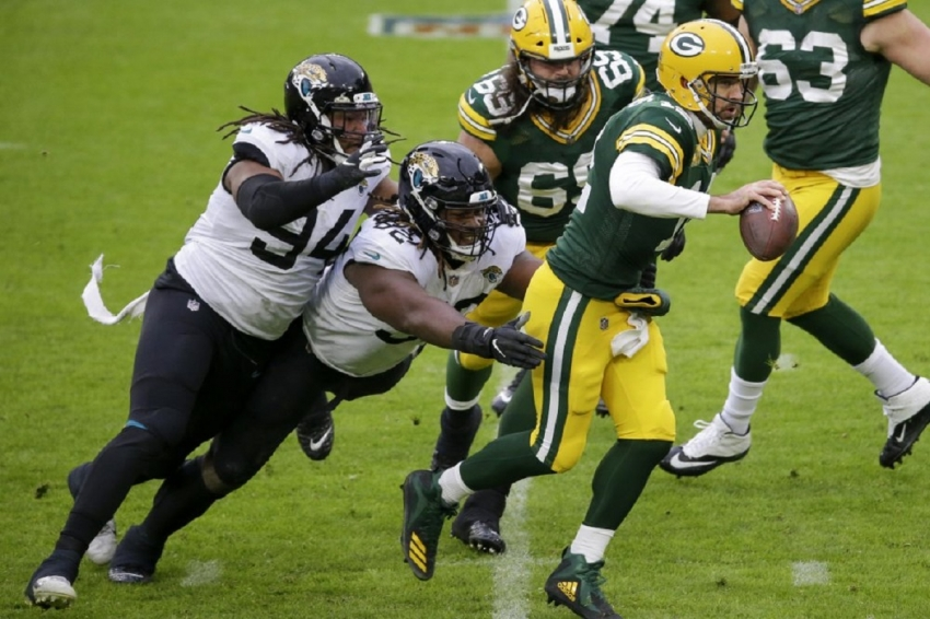 Jacksonville Jaguars v Greenbay Packers: Packers struggle to put away Jags, get by for win