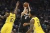 Bogdanovich scores 25 points, Kings rout Warriors