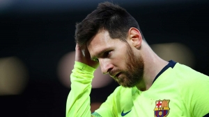 Barcelona confirm Messi injury but calm any long-term fitness fears
