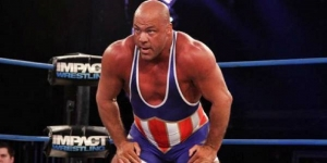 "Kurt Angle: My best years were with a ""smaller company"""