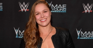 Ronda Rousey announces she's pregnant