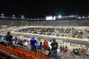 Around 20,000 fans attend NASCAR All-Star Race