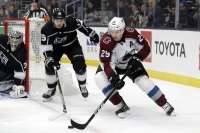 MacKinnon sidelined at least a week with lower body injury