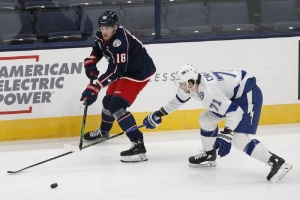 Torts and unhappy Dubois clash as Blue Jackets struggle