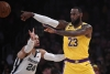 Anthony Davis' big 2nd half leads Lakers past Grizz