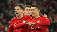 Rampant win sees Bundesliga champions close the gap