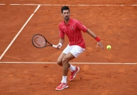 Djokovic relishing fan influx at charity tournament