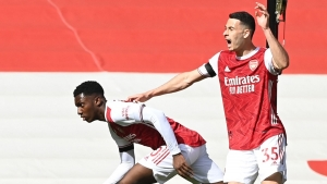 Arsenal 1-1 Fulham: Eddie Nketiah snatches late point for Gunners