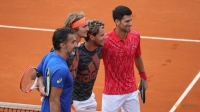 Djokovic, Thiem and Zverev win opening Adria Tour singles