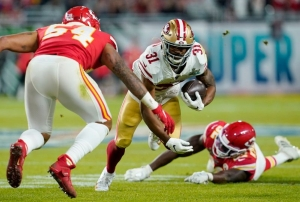 RB Mostert, 49ers back on speaking terms