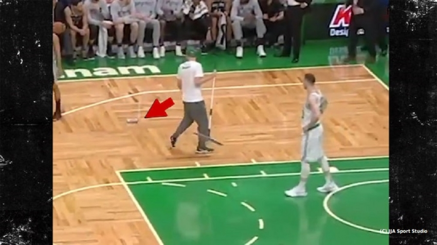Man charged after can thrown onto court during Celtics game