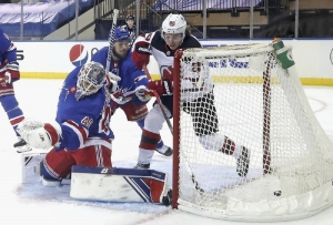 New Jersey Devils v New York Rangers: Hughes has 3 points in 2nd period as Devils beat Rangers