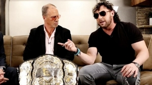 Kenny Omega appears on Impact, teases chasing World Title