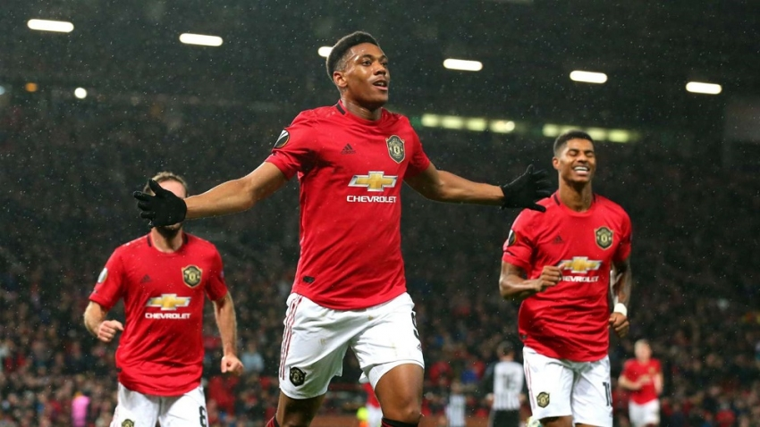 Martial and Rashford on target as Red Devils seal progression