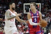 Kennard and Rose help Pistons over Rockets