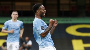 Sterling at the double as Foster limits Pep's men to four