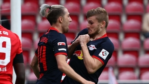 Werner hat-trick inspires crushing win