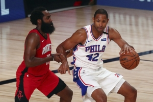 76ers close regular season by breezing past Rockets