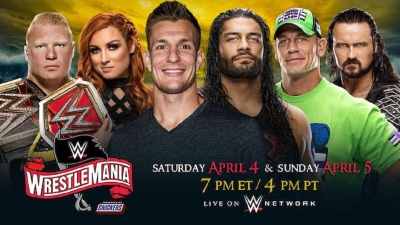 WrestleMania being over 8 hours long