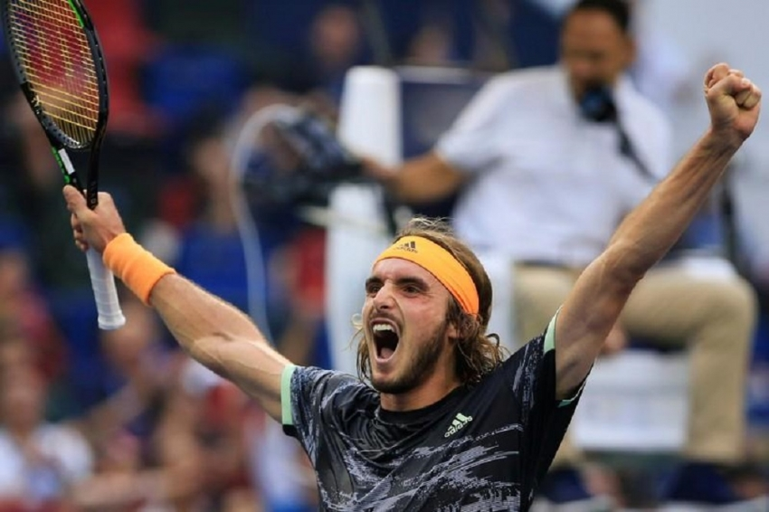 Tsitsipas downs Djokovic in Shanghai, qualifies for ATP Finals