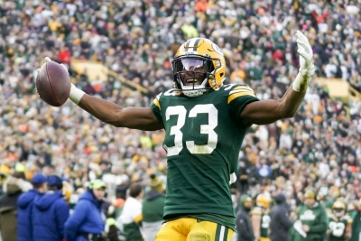 Aaron Jones leads Packers past Washington