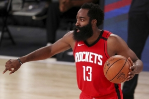 Harden has 49 to lead Rockets over Mavericks in OT