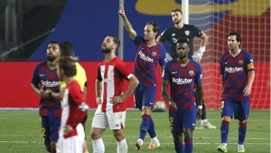 Rakitic to the rescue as Messi is kept waiting