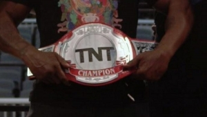 AEW TNT Championship belt maker comments on it being unfinished
