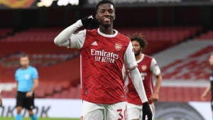 Arsenal v Dundalk: Gunners ease to victory after Nketiah breakthrough