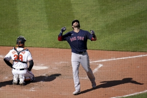Boston Red Sox v Baltimore Orioles: Martinez comes off COVID list, hits 3 HRs as Red Sox top O's