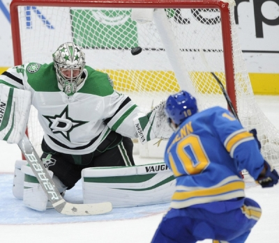 O'Reilly scores only goal in shootout, Blues beat Stars